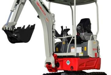 Takeuchi launches 1.7 tonne short tail