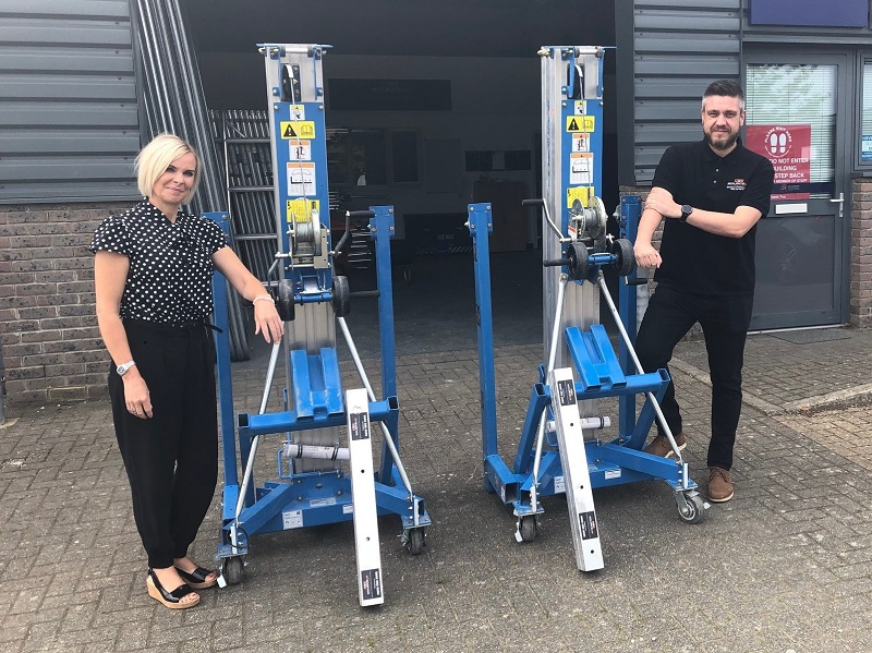 Hire specialist turns to APS for Genie