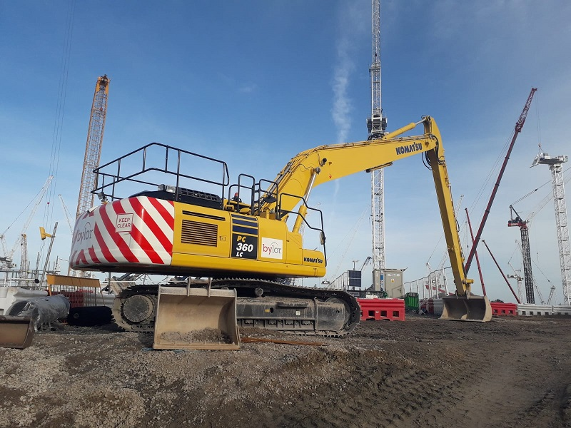 Bylor invests in Komatsu at Hinkley Point C