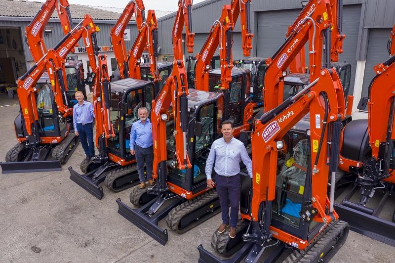 Kubota supplies Breheny Civil Engineering