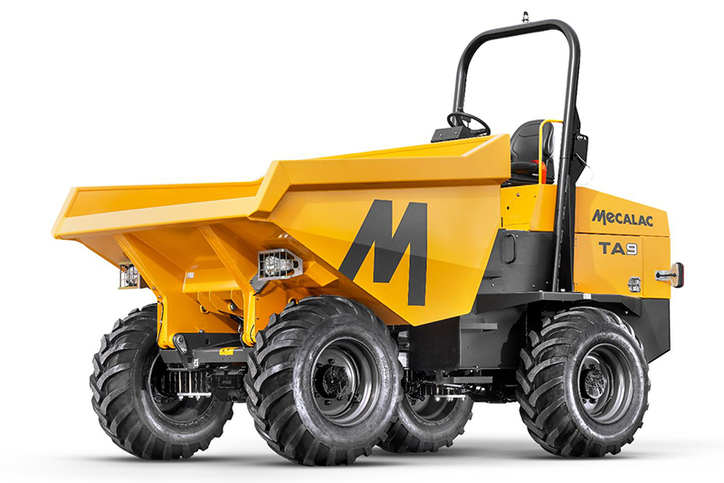 Mecalac UK launches 0% finance on nine-tonne site dumpers