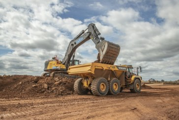 Collins Earthworks takes delivery of UK's first Volvo EC950F