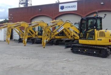 Howard Civil Engineering expand fleet with Komatsu utility range.