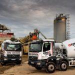 King Concrete bangs the drum for Rygor's pre-built Mercedes-Benz Arocs truck mixers