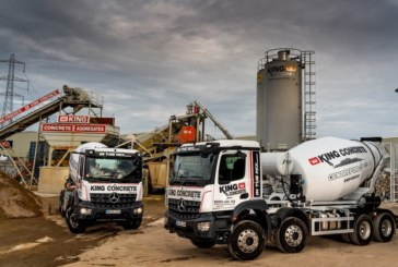 King Concrete bangs the drum for Rygor's pre-built Mercedes-Benz Arocs truck mixers