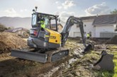 Volvo introduces F generation ECR58 compact excavator