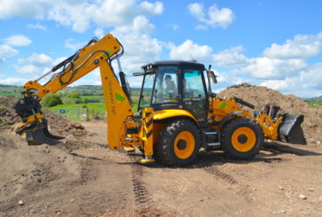 High-spec JCB backhoe is master of all trades