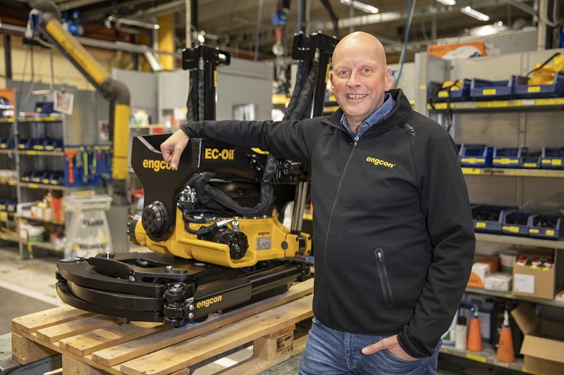 Change the world of digging, urges Engcon
