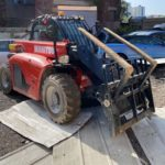 Stolen Manitou telehandler recovered in less than 1 hour