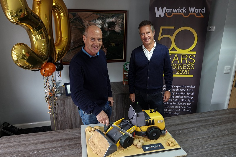 Warwick Ward Machinery celebrates half century