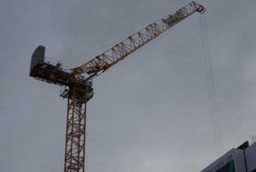 World's first Potain MRH 175 hydraulic luffing jib crane commissioned for Glasgow project