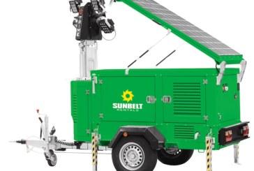 Trime UK win a Green Apple Award for their X-Solar Hybrid lighting tower