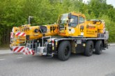 PP Engineering Crane Hire takes delivery of a Demag AC 45 City crane