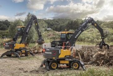 Volvo extends material handler range and reach with the EW200E & EW240E