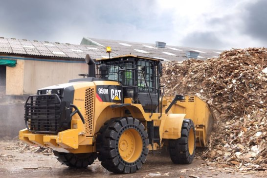 New joystick steering tested in waste handling environment