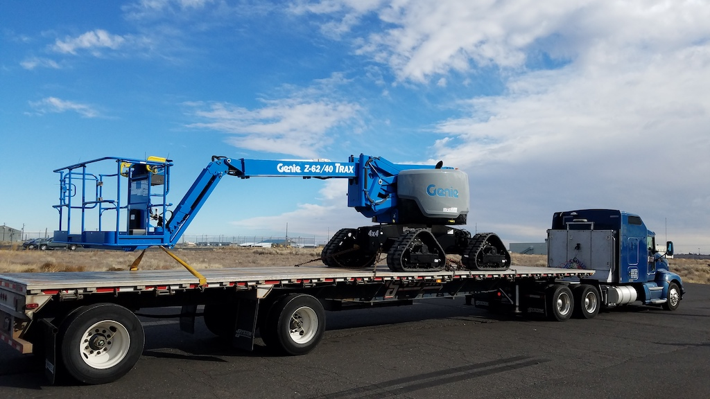 Genie launches new Z-62/40 TRAX articulating boom in Europe