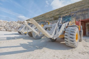 Albion Stone PLC adds a third Volvo L150H loading shovel for its mining operations