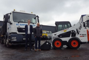 EC Surfacing expands with new Bobcat loaders & excavator