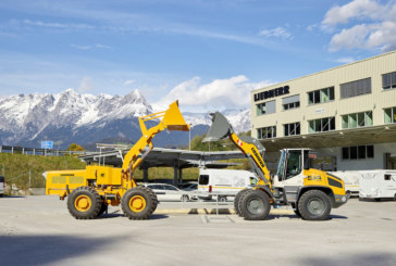 Liebherr restores a 60-year-old wheel loader prototype: The LSL 1500