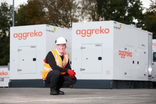 Aggreko cleans up emissions with power of Stage V