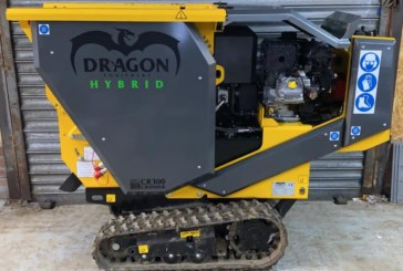 Dragon Equipment introduces the CR300H Hybrid Concrete Crusher