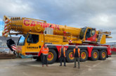 Cadman Cranes press on with expansion plans following the delivery of the South of England's first Liebherr LTM1110-5.1