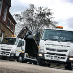 UK Surfacings stages a repeat performance with two FUSO Canters from City West Commercials
