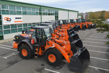 Jack Moody Group invest in ten Hitachi wheel loaders