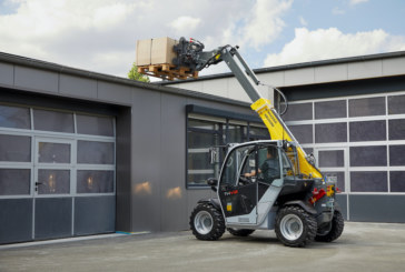 Wacker Neuson TH412 and WL28 | Efficient and productive in narrow spaces