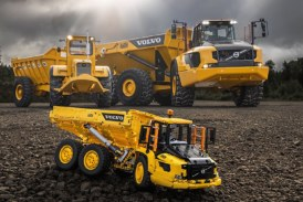 Volvo articulated haulers   Half a century strong