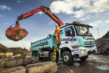 Leedale grabs another pair of MirrorCam-equipped 8×4 Arocs from Mercedes-Benz Dealer Rygor