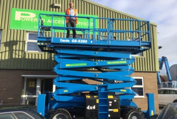Powered Access Services receives UK's first Genie GSTM-5390 scissor lifts with Stage V engine solution