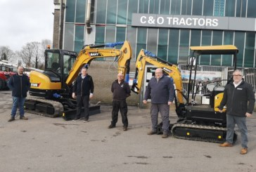 Sany announce C&O Tractors as new dealer across English south coast