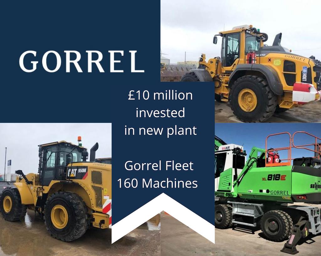 Gorrel invest £10m in new fleet for 2021