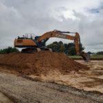 Machines for demanding jobsites: CASE crawler excavators at work throughout Europe