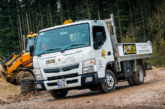 Anwen Construction lays the foundations for growth with tough, practical 3.5t FUSO Canter