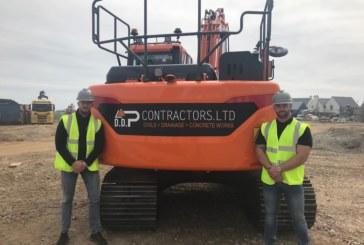 DDP Contractors prospers with new Doosan excavator