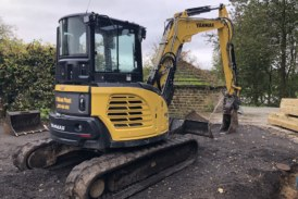 Owner-operator hits the jackpot with Yanmar ViO57 excavator