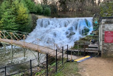 Land & Water completes works on Blenheim Grand Cascade Apron as part of larger restoration project