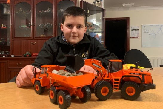13-year-old Jamie Currie digs path for future with driving qualification
