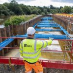 Mabey Hire's groundworks solution supports Severn fish migration