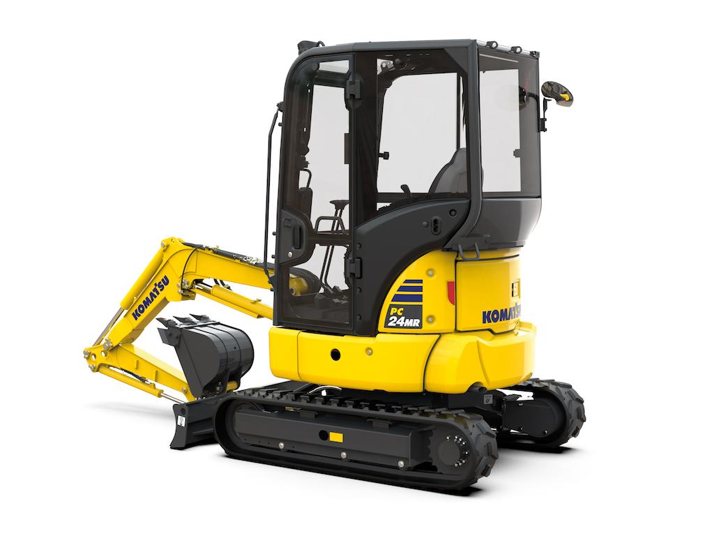 Introducing the new PC24MR-5 mini excavator
