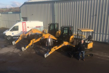 SANY announce Fitzgerald Plant Services as new dealer for South Wales