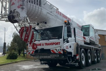 J & M Crane and Transport Ltd takes delivery of brand new Tadano ATF-100-4.1 all terrain crane