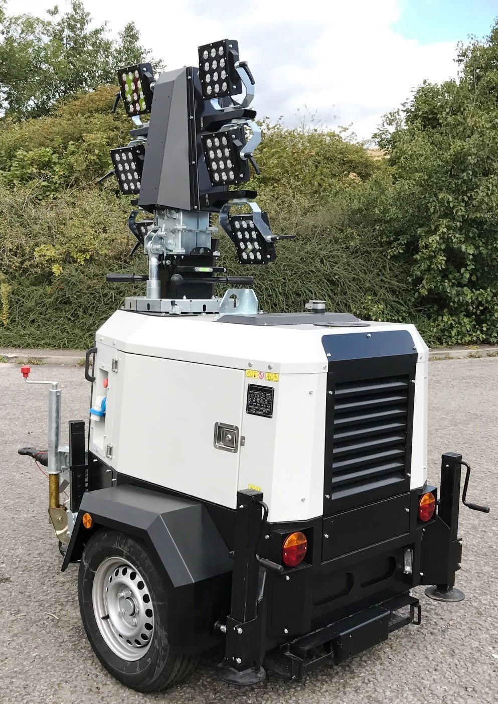 Christian Faversham Group goes for Trime's X-ECO Lighting Towers