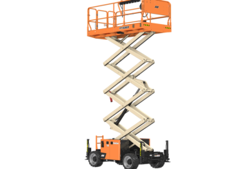 New JLG 26 and 33-FT rough-terrain and electric rough terrain scissor lifts available