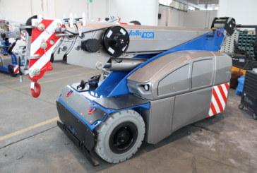 MANITEX VALLA launches the new V 110 R – 11 Ton Electric Mobile Crane