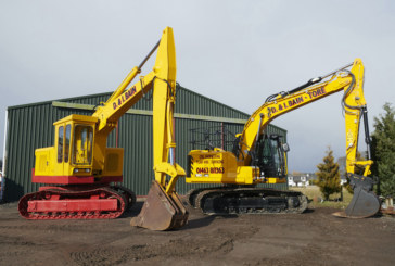 New meets old as Scottish contractor continues commitment to JCB