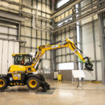 JCB Hydradig delivers test data for Big Yellow Robots project