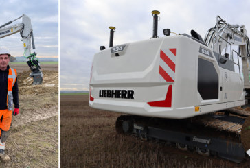 First Liebherr crawler excavator to be offered with factory-fitted Leica Geosystems machine control technology